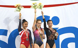 Senter Wins Silver Medal for Team USA