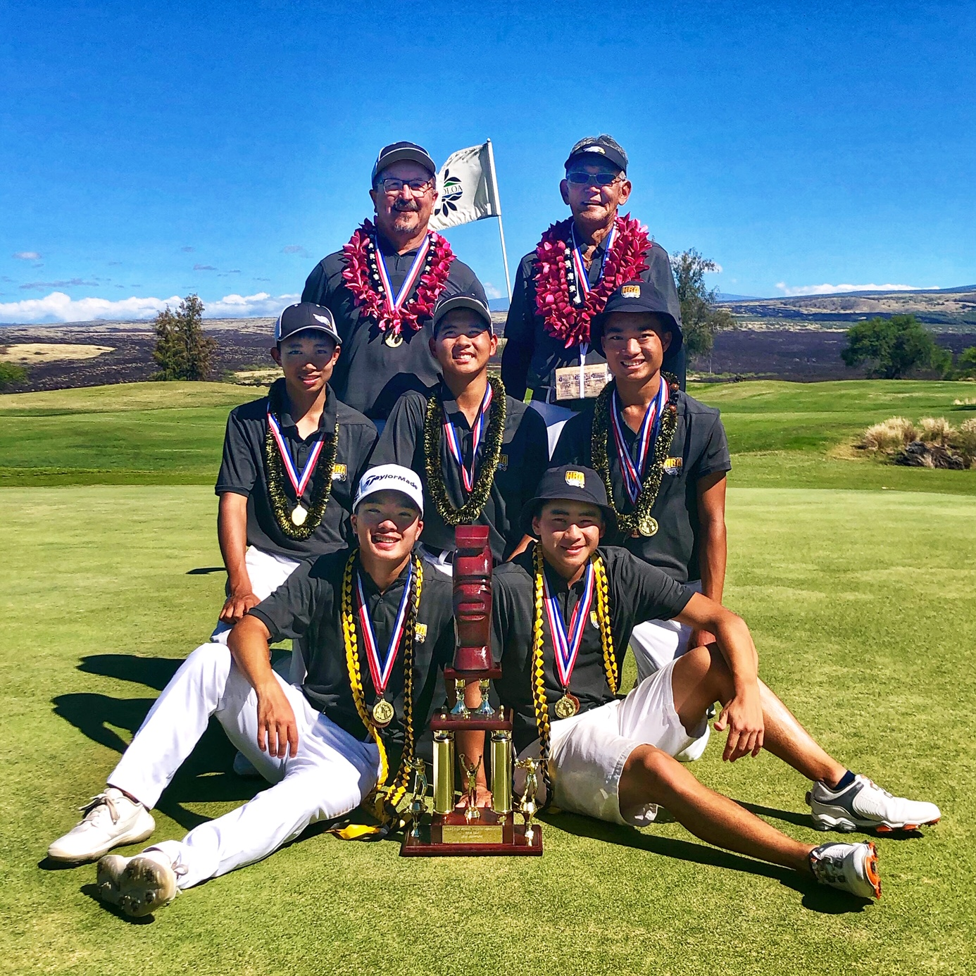 HBA Wins Boys State Golf Championship