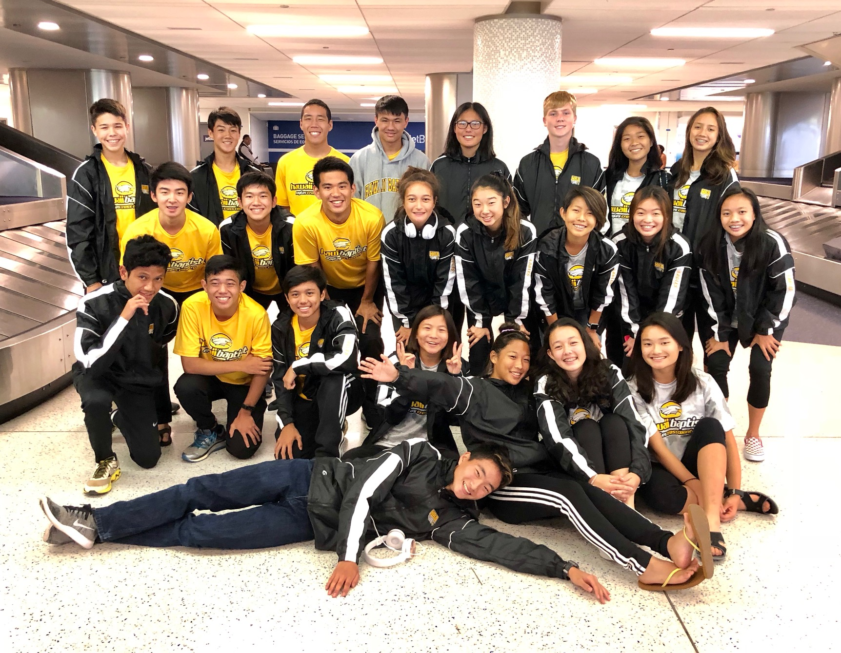 HBA Cross Country Teams Compete in California Invitational