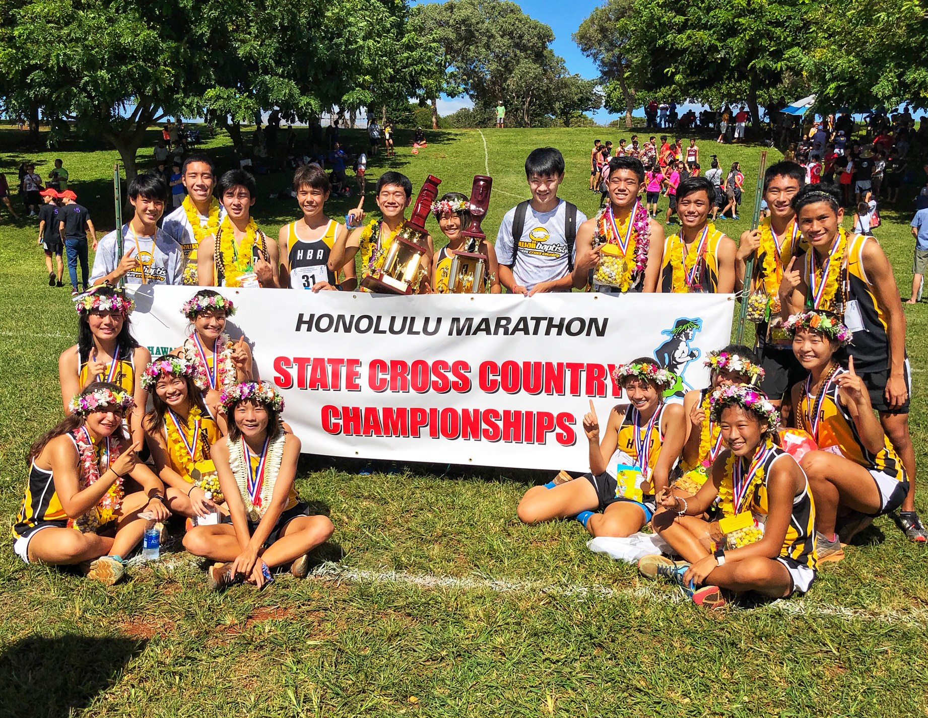 HBA Wins Girls and Boys Cross Country State Championships