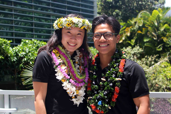 Matthew Butay and Ally Wada Elected Mr. & Miss HBA 2018